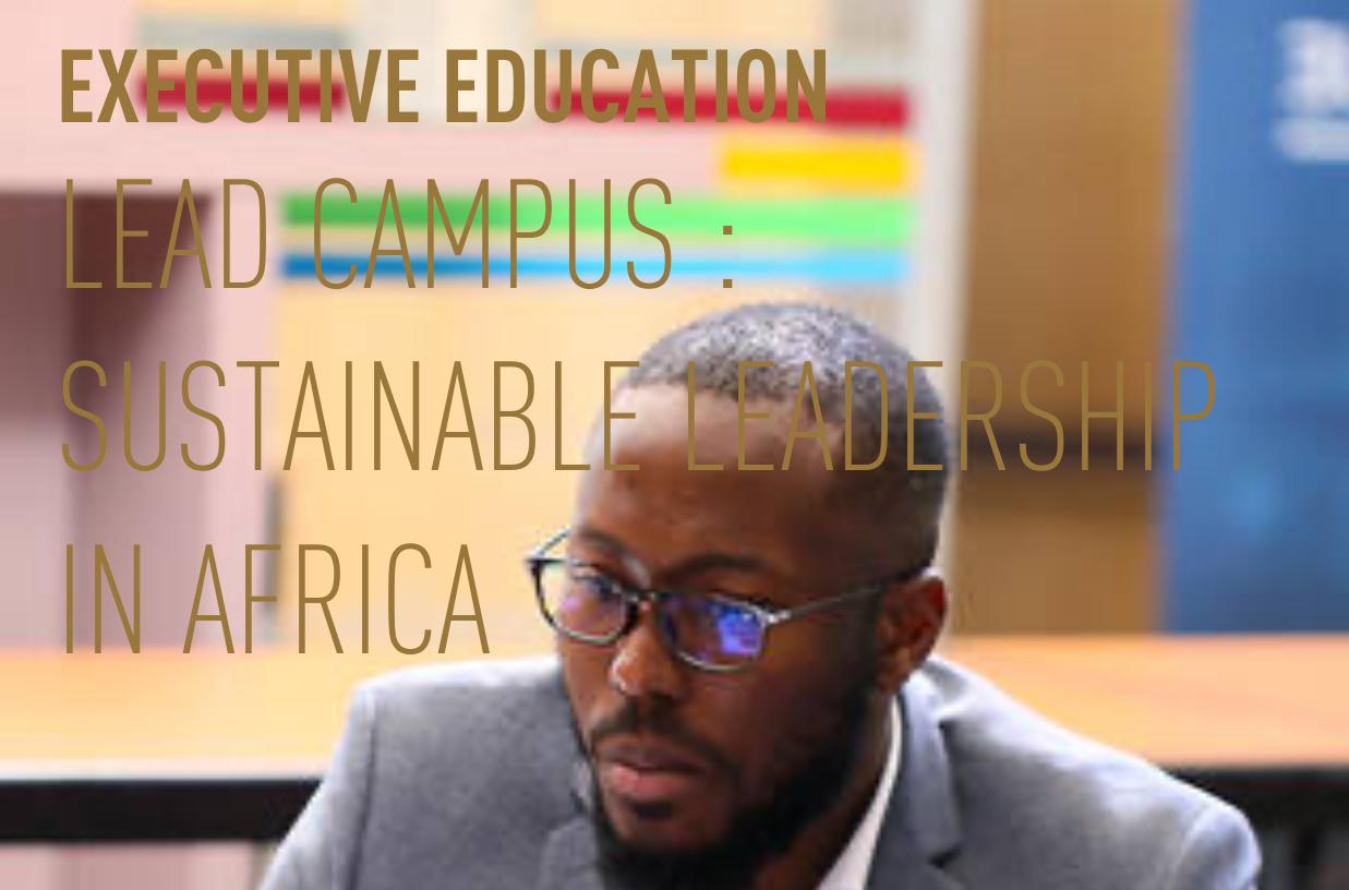 Lead Campus: un programme de l'AFD et d'HEC Paris pour former les leaders africains de demain