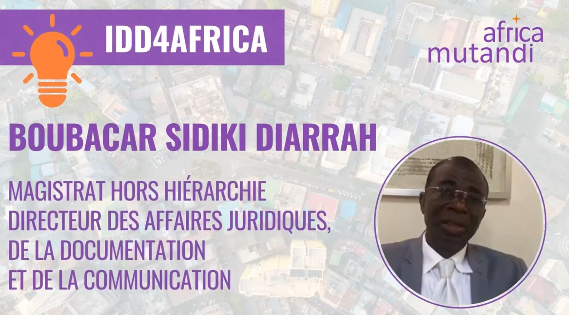 Boubakar Sidiki Diarrah – La vision de l'OHADA sur les en jeux de RSE