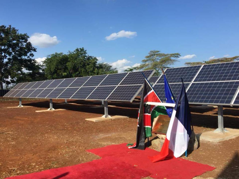 Démonstrateur photovoltaïque de 100 kW de l'Université Kenyatta au Kenya