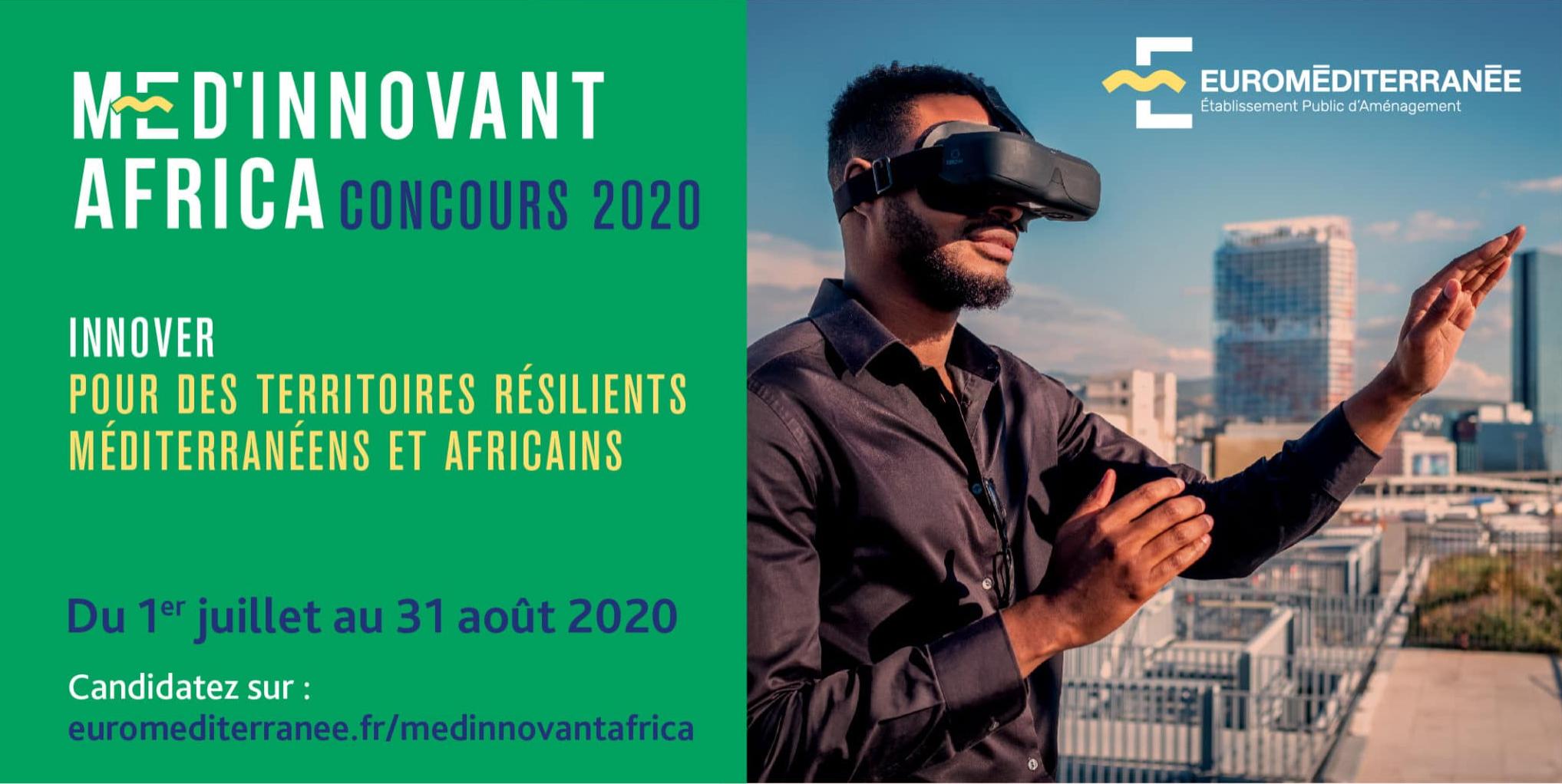 2ème édition du concours Med'Innovant Africa pour des startups au service de la ville durable