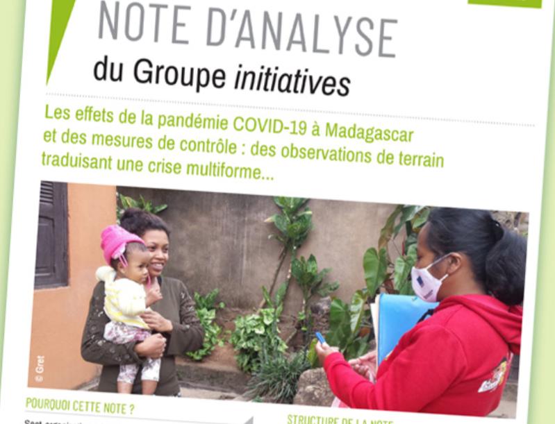 Effets de la pandémie COVID-19 à Madagascar – Le Groupe Initiatives, dont Agrisud International, témoigne