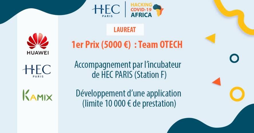 Hackathon Covid-19 Africa : 5 solutions récompensées pour lutter contre le Covid !