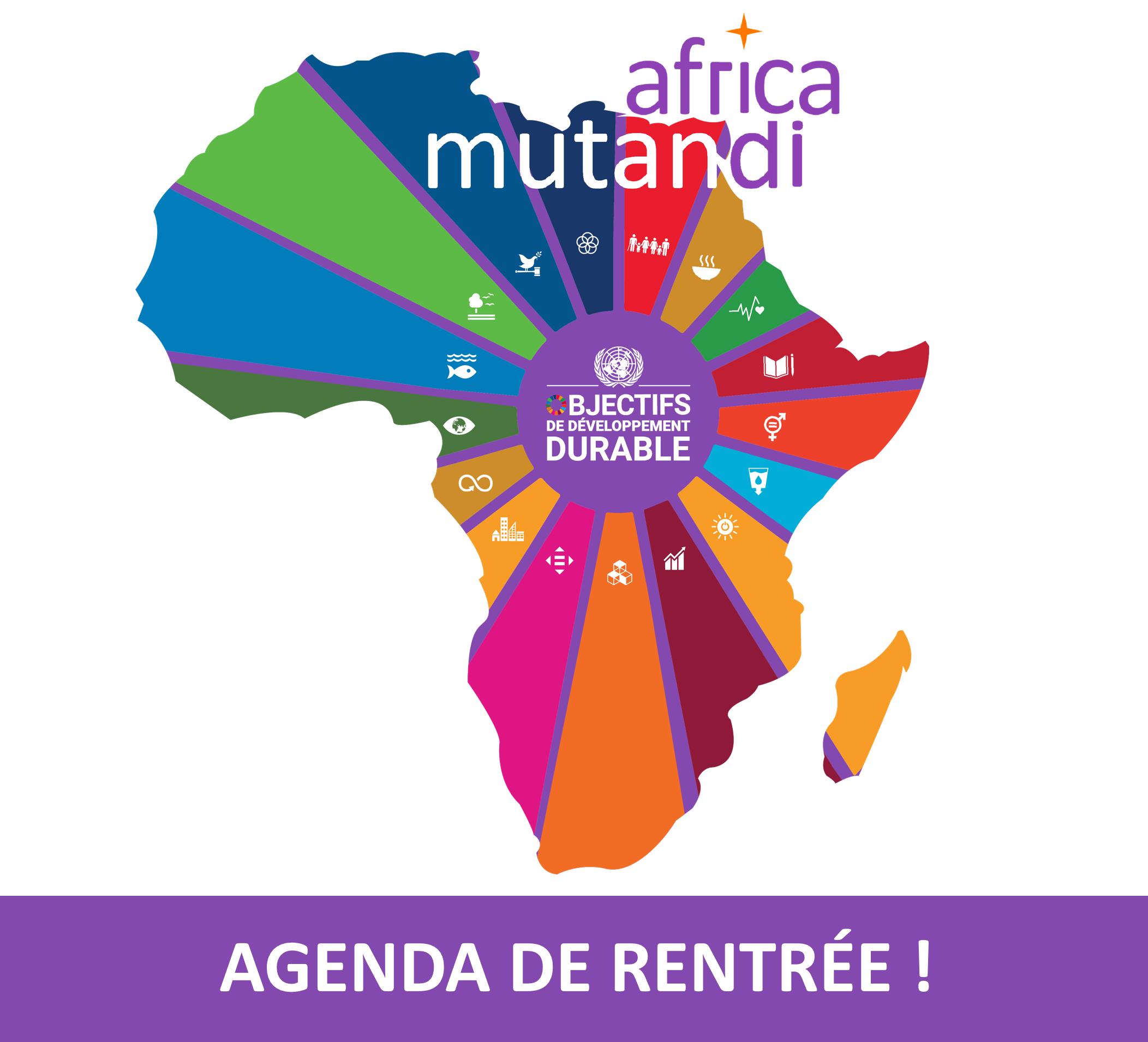 L'agenda de rentrée d'Africa Mutandi !