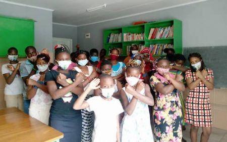 Owendo Container Terminal assure la prise en charge médicale d'une centaine d'enfants de l'association Arc en Ciel au Gabon