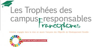 Les trophées des campus responsables francophones : lancement de la 7ème édition !