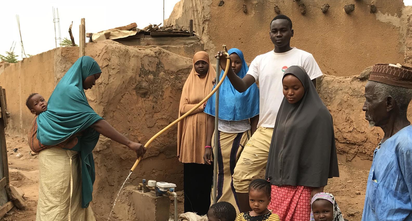 Veolia Africa et CityTaps s'allient pour inventer des compteurs intelligents au Niger.