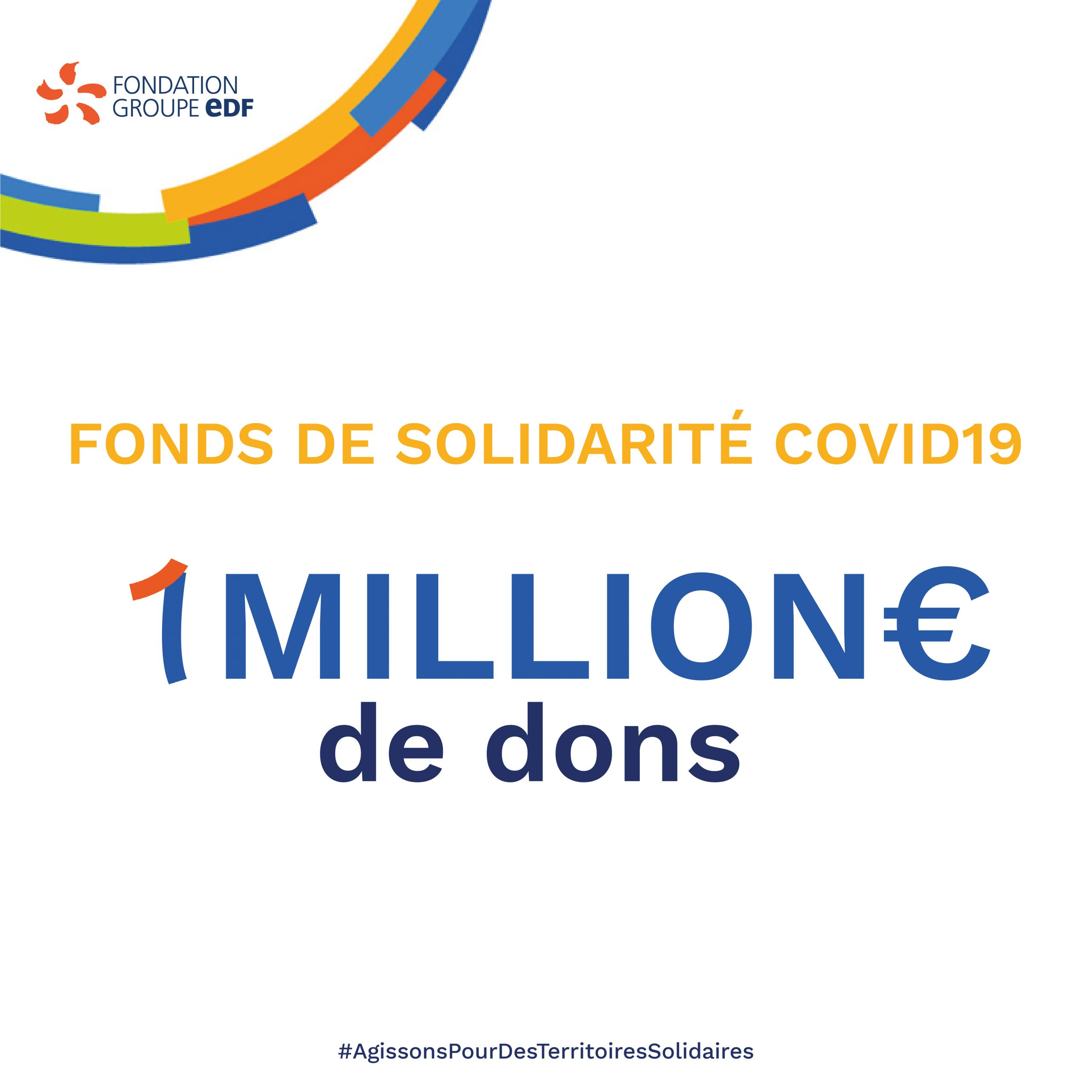 89 projets d'associations en France et à l'international soutenus par notre Fonds de Solidarité Covid19