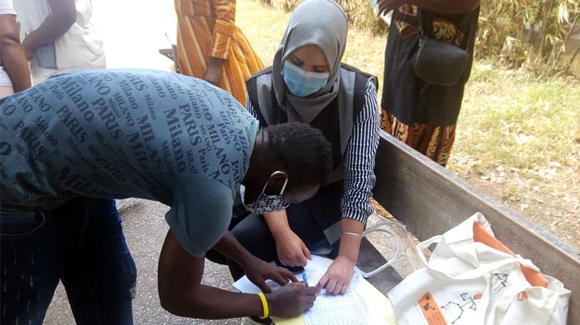 Programme d'urgence au Maroc destiné aux migrants pour faire face au Covid19