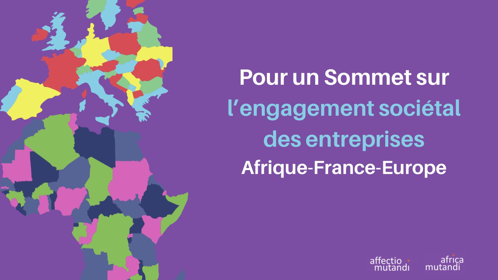 Sommet sur l'Engagement Sociétal des Entreprises des deux continents