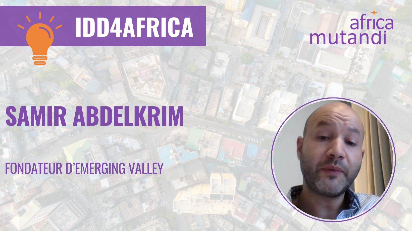 Retrouvez la visionde Samir Abdelkrim sur les leviers d'accélération des ODD en Afrique