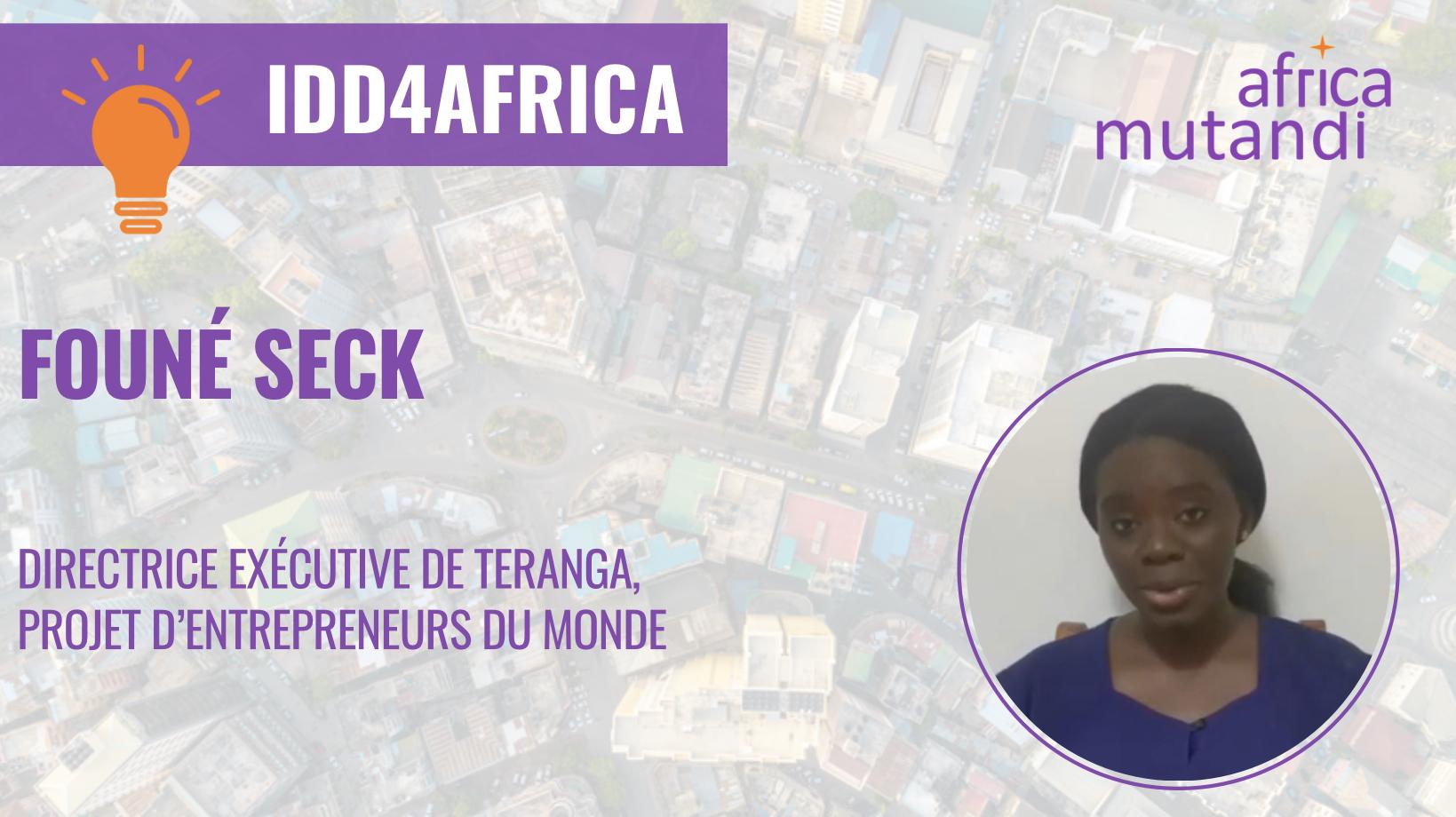 Retrouvez la visionde Founé Seck sur les leviers d'accélération des ODD en Afrique