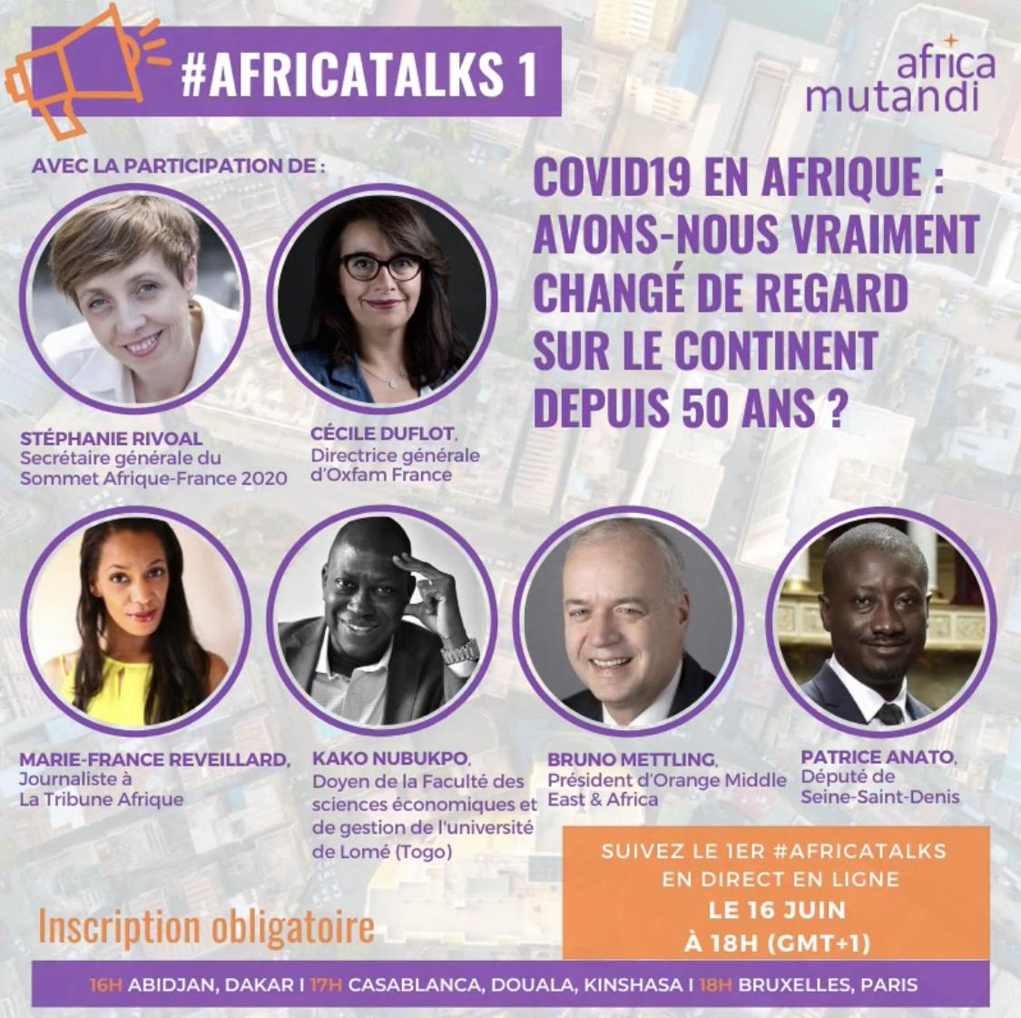 Replay de l'AfricaTalk#1: Afrique, avons-nous vraiment changé de regard ?
