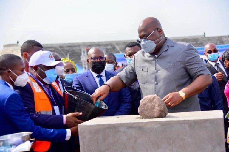 IXèmes Jeux de la Francophonie: Félix Tshisekedi donne le coup d'envoi des travaux de réhabilitation des sites