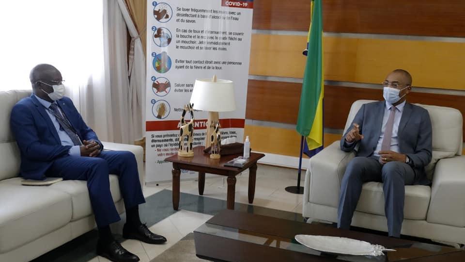 Gabon : le Fonds «la Francophonie avec Elles» présenté à Guy Patrick Obiang Ndong