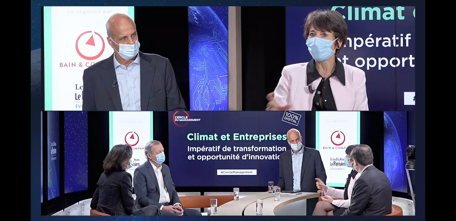 Christel Bories invitée du Cercle du management sur l'industrie et le climat
