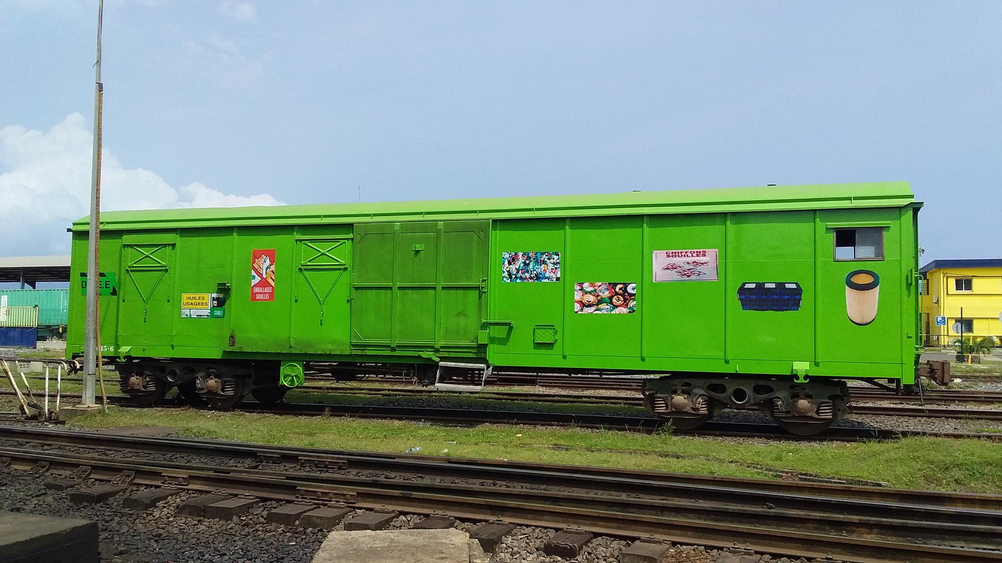 Le wagon vert: la bonne pratique Environnement de la Setrag