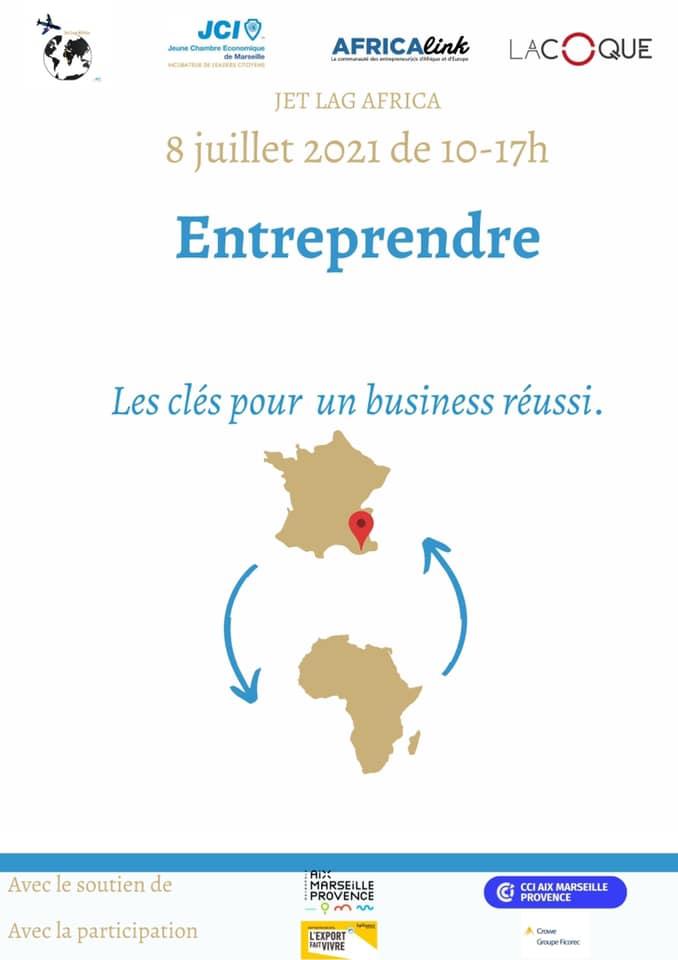 « Les clés pour un business réussi avec l'Afrique » _ le 08 juillet 2021 (phygital)