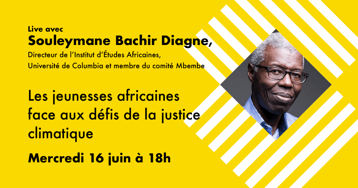 Live exclusive avec Souleymane Bachir Diagne !