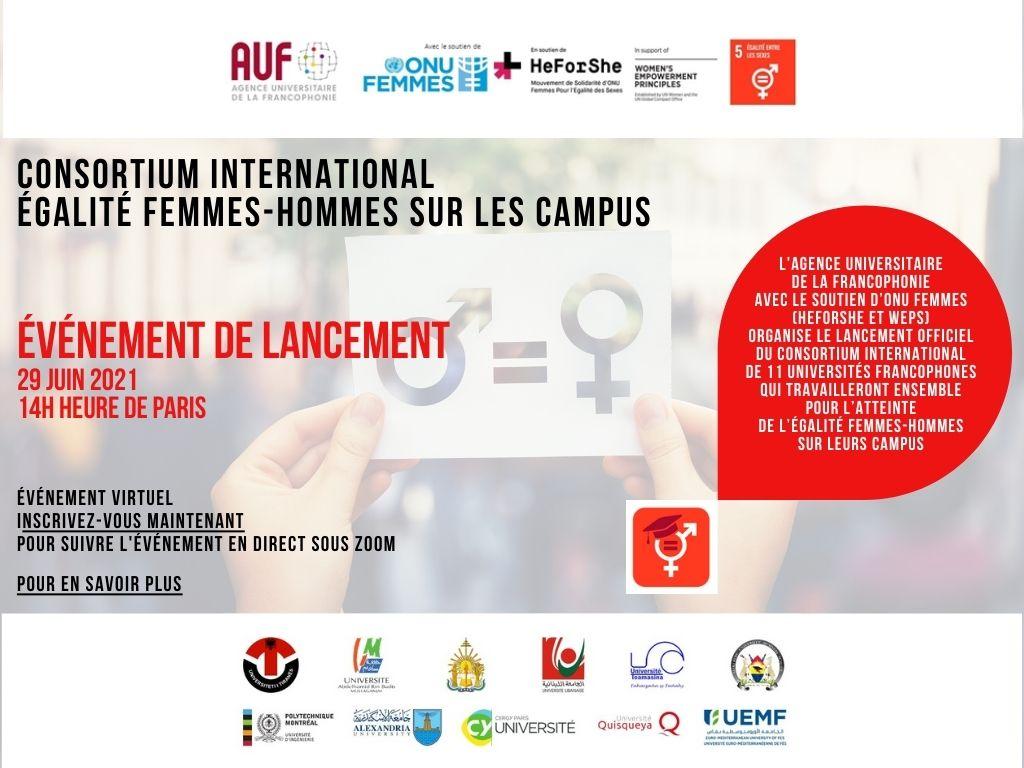 ODD5 : Les universités francophones s'engagent avec l'AUF pour l'égalité femmes-hommes