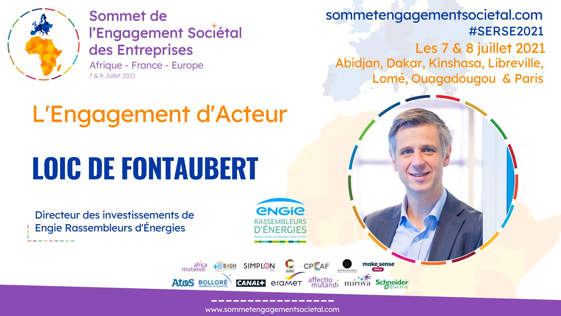 """Loïc de Fontaubert : """"Le succès des ODD dépendra du succès des entrepreneurs"""""""