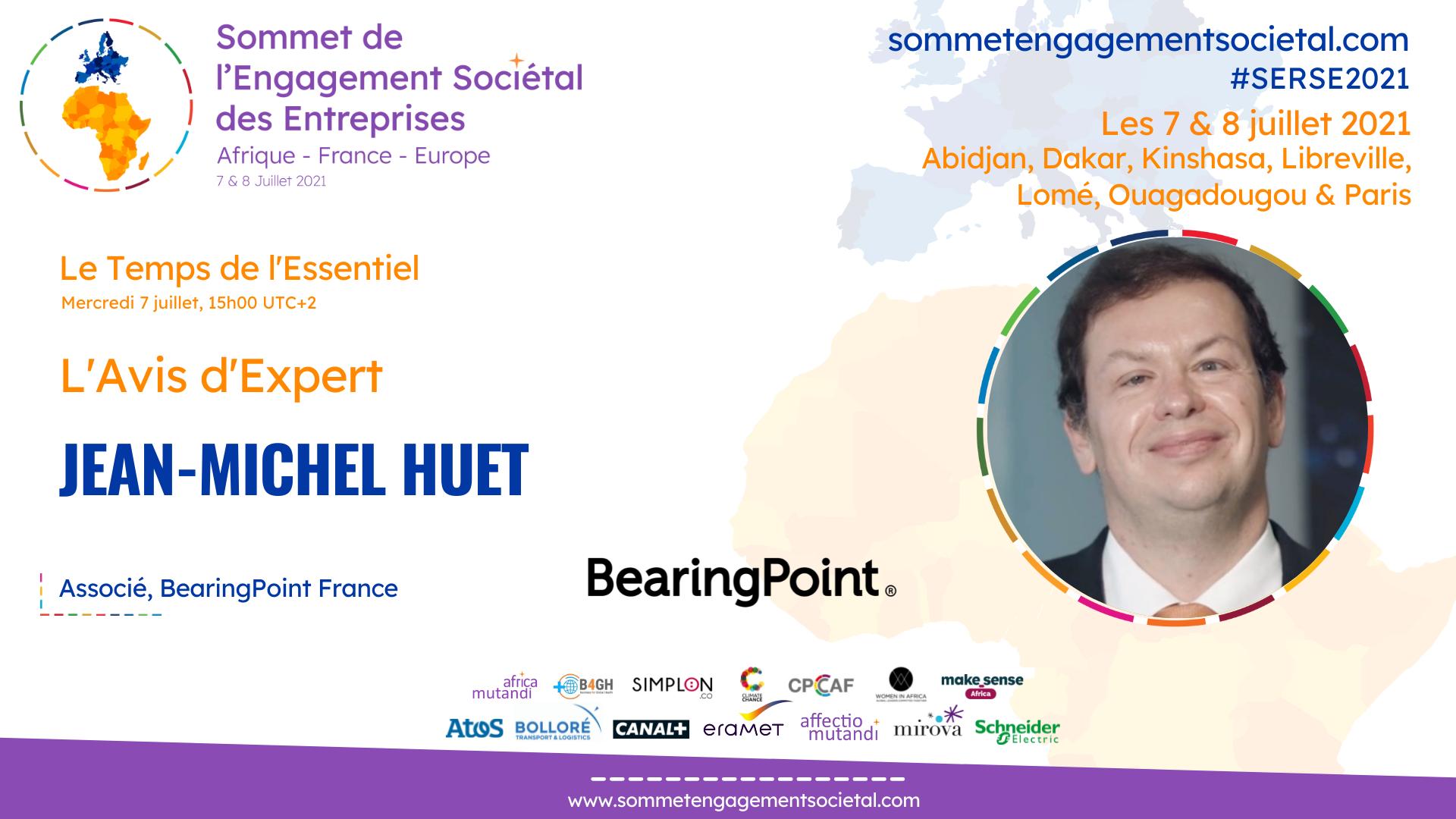 Le temps de l'Essentiel : l'avis d'expert numérique, Jean-Michel Huet