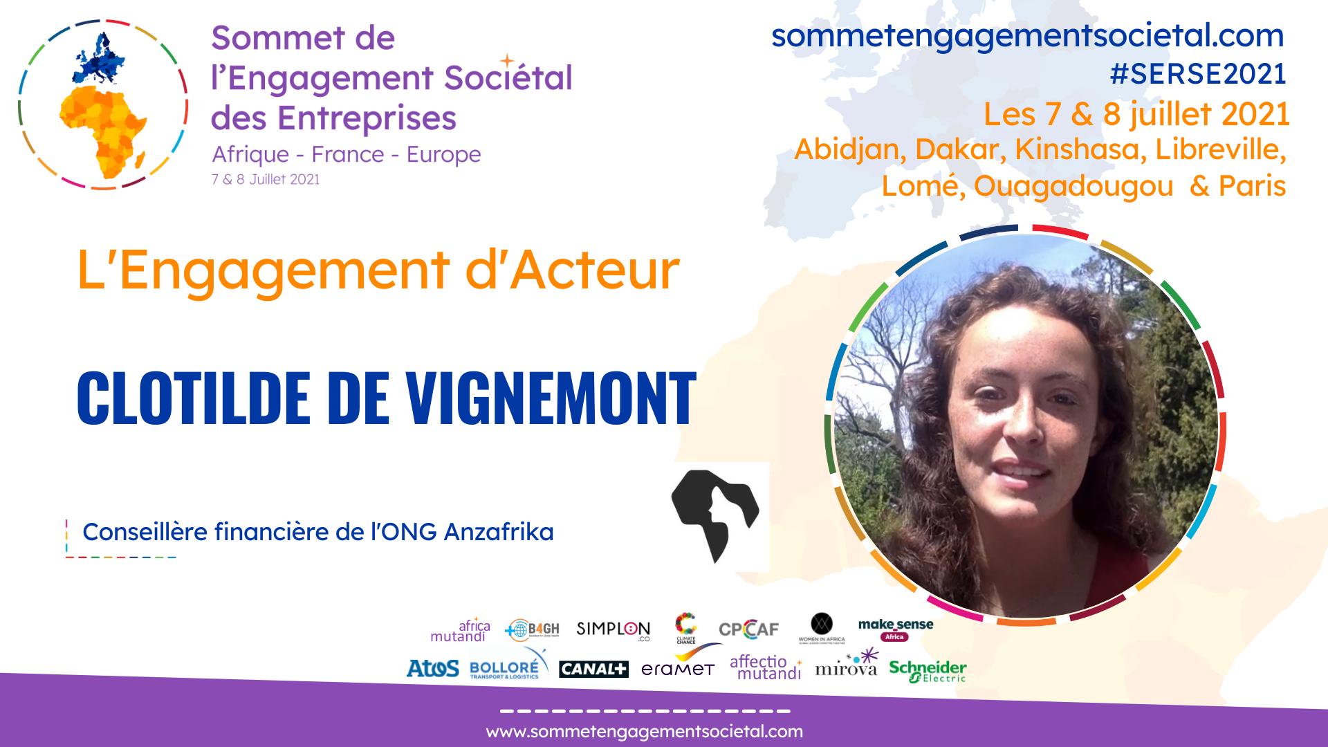 Clotilde de Vignemont présente Anzafrika, acteur de la transition agroécologique