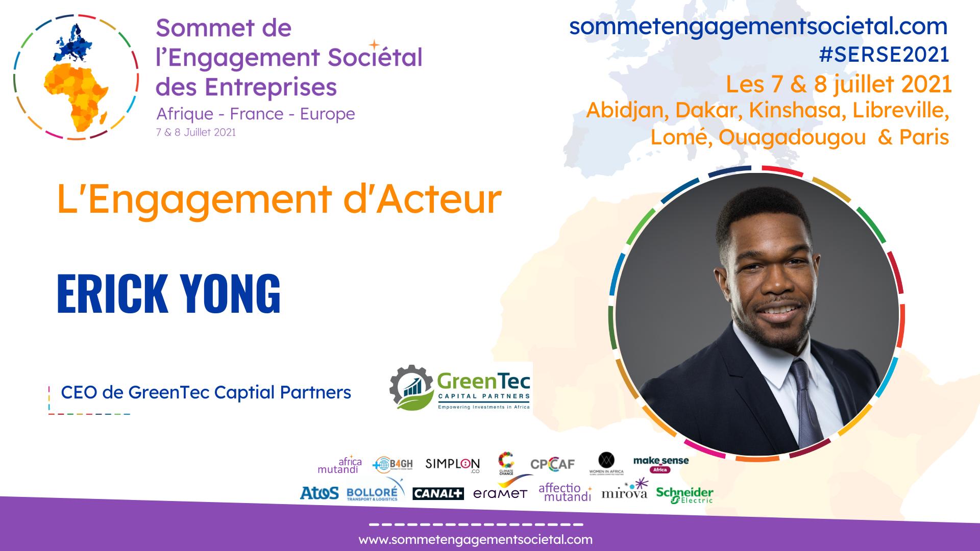 Erick Yong, soutient les entreprises innovantes et les infrastructures digitales