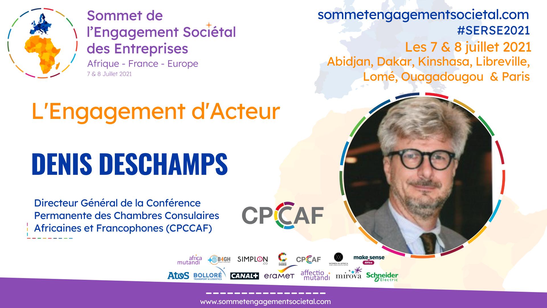 Denis Deschamps prône un développement local en Afrique