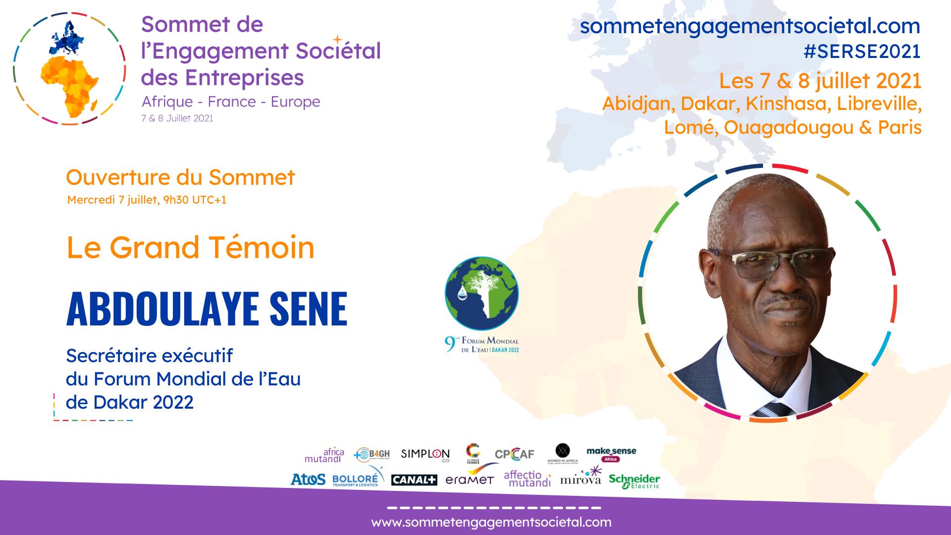 Pour Abdoulaye Sene, inscrire la RSE dans le cadre d'une action collective et collaborative est nécessaire