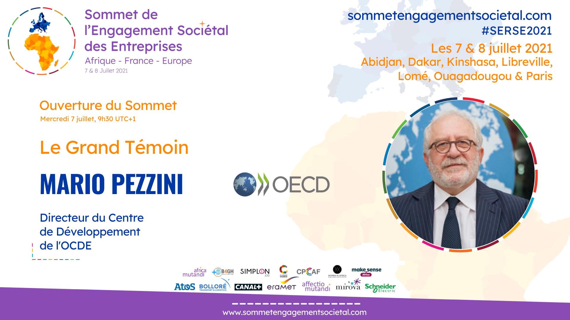 Mario Pezzini exprime sa vision sur la reprise mondiale et le rôle de l'Afrique