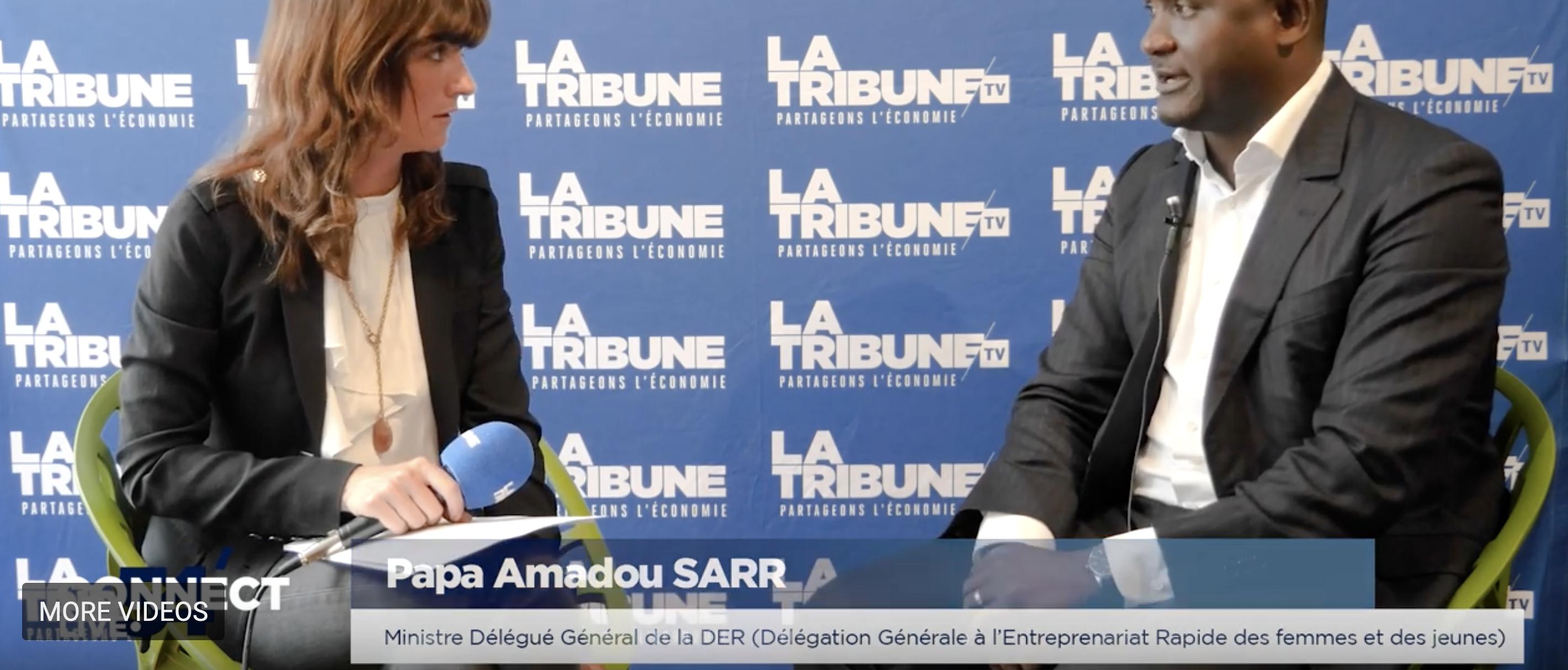 Retrouvez Papa Amadou Sarr, ministre délégué du Sénégal, dans Connect'54
