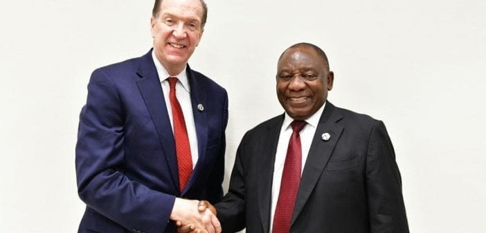 Covid-19 vaccination : l'Union africaine et la Banque mondiale oeuvrent pour vacciner 400 millions de personnes