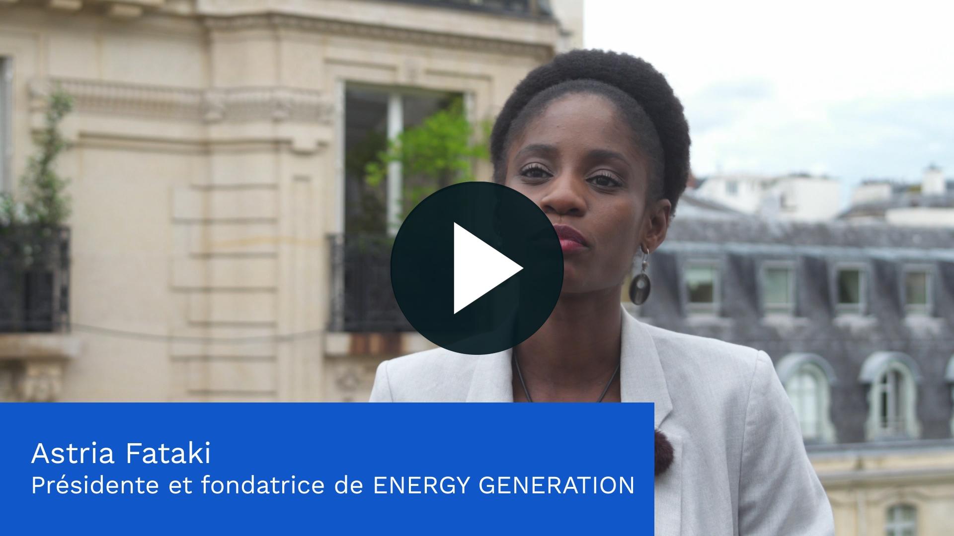 Découvrez le projet d'Energy Generation, soutenu en Conseil d'Administration par la Fondation groupe EDF