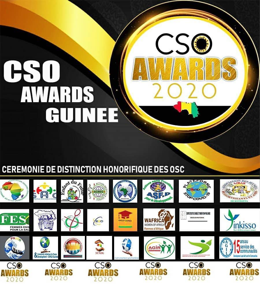 ASEFCE INTERNATIONAL GUINÉE sélectionnée pour la 1ere Edition des OSC AWARDS GUINÉE