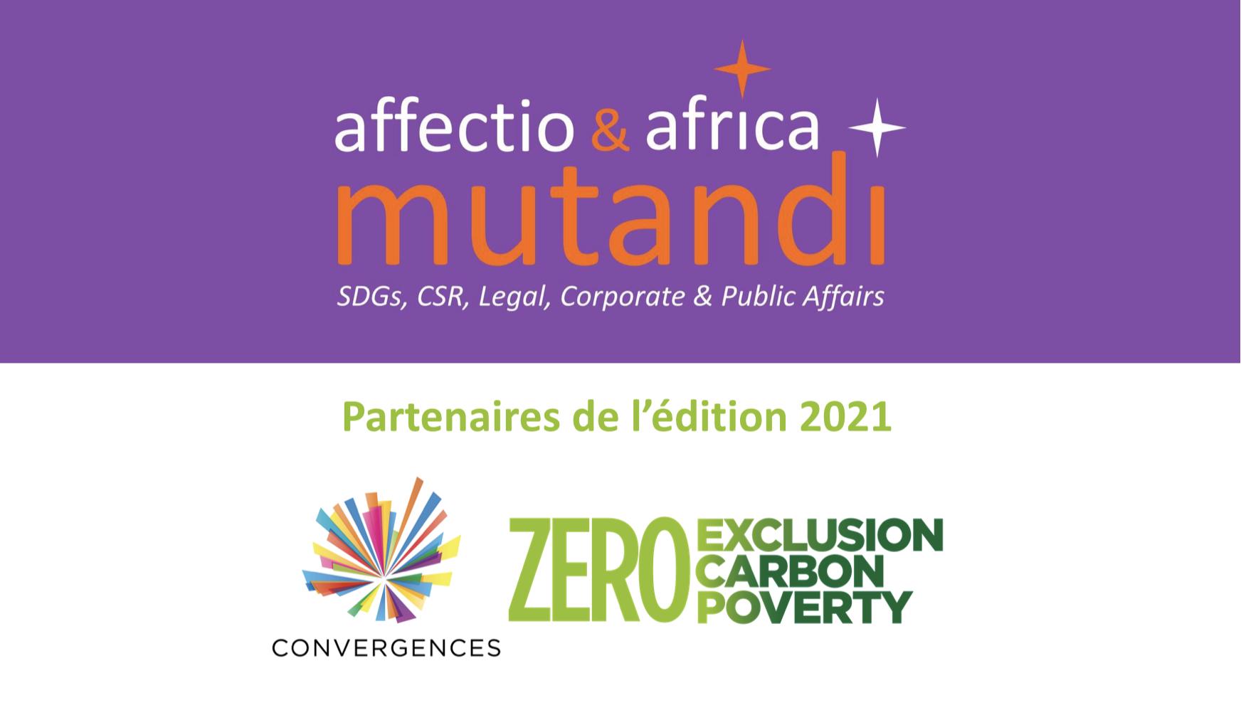 Affectio & Africa Mutandi partenaires de Convergences – 200 places gratuites disponibles !!!