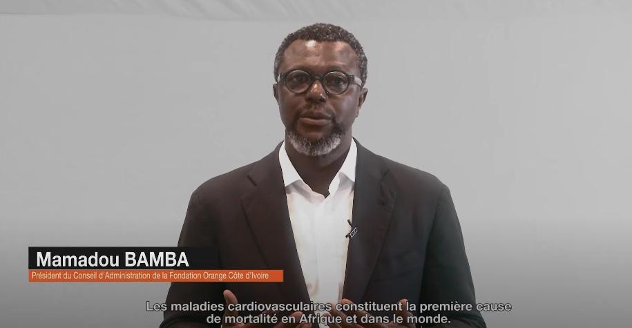 A l'occasion de la Semaine du coeur, retrouvez l'interview de Mamadou BAMBA et Habib BAMBA de la Fondation Orange