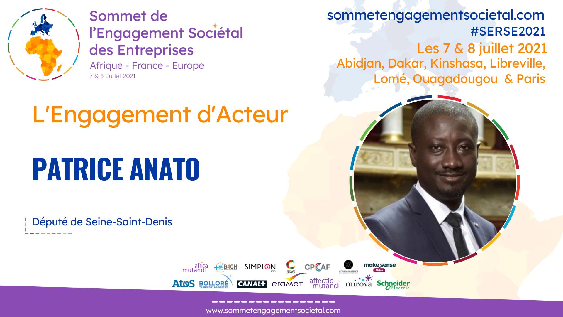 Patrice Anato appelle à un effort important pour le soutien à l'entrepreneuriat des femmes et l'inclusion numérique en Afrique