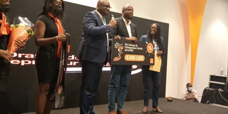 Orange RDC a remis des prix aux finalistes de la 11e édition du Prix Orange de l'Entrepreneur Social Afrique et Moyen-Orient 2021