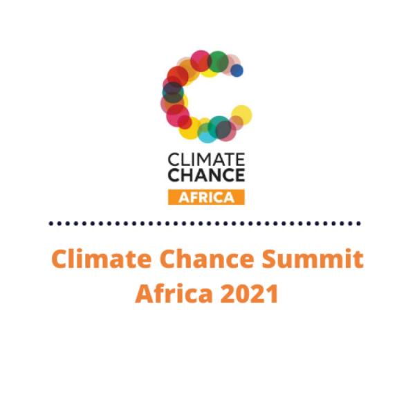 Sommet Climate Chance Afrique 2021