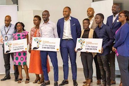 Côte d'Ivoire : Agritech 4 africa , e.BeDou et Cityzed, lauréats au Prix Orange de l'Entrepreneur Social 2021