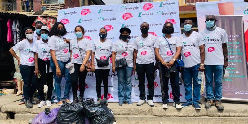 NIGERIA : en 2020 Lafarge a axé sa démarche RSE sur la valorisation des déchets