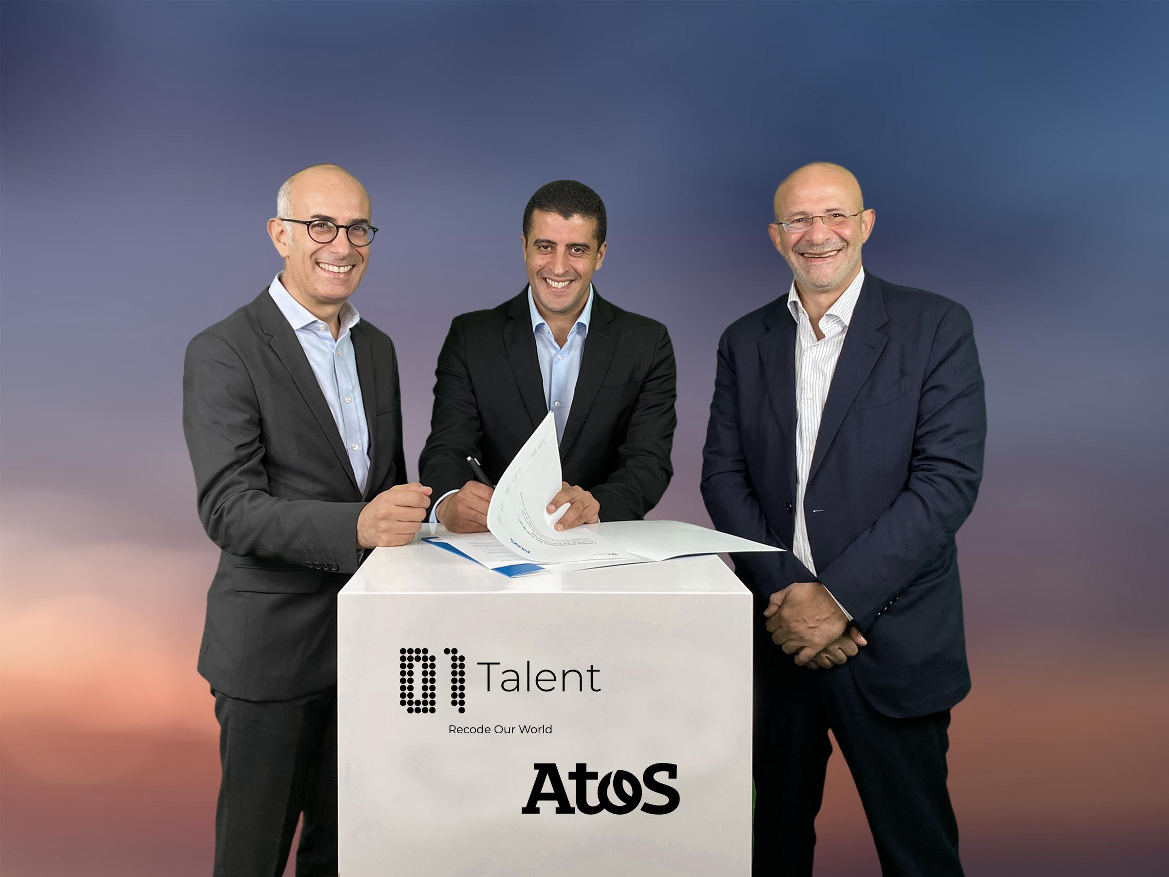 ATOS: Partenariat avec 01Talent en Afrique