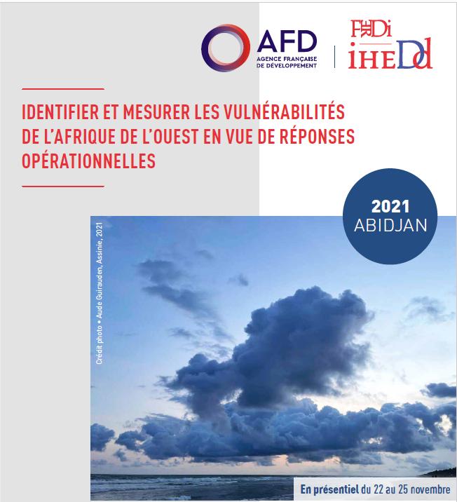 Formation de haut-niveau : Identifier et mesurer les vulnérabilités de l'Afrique de l'Ouest en vue de réponses opérationnelles