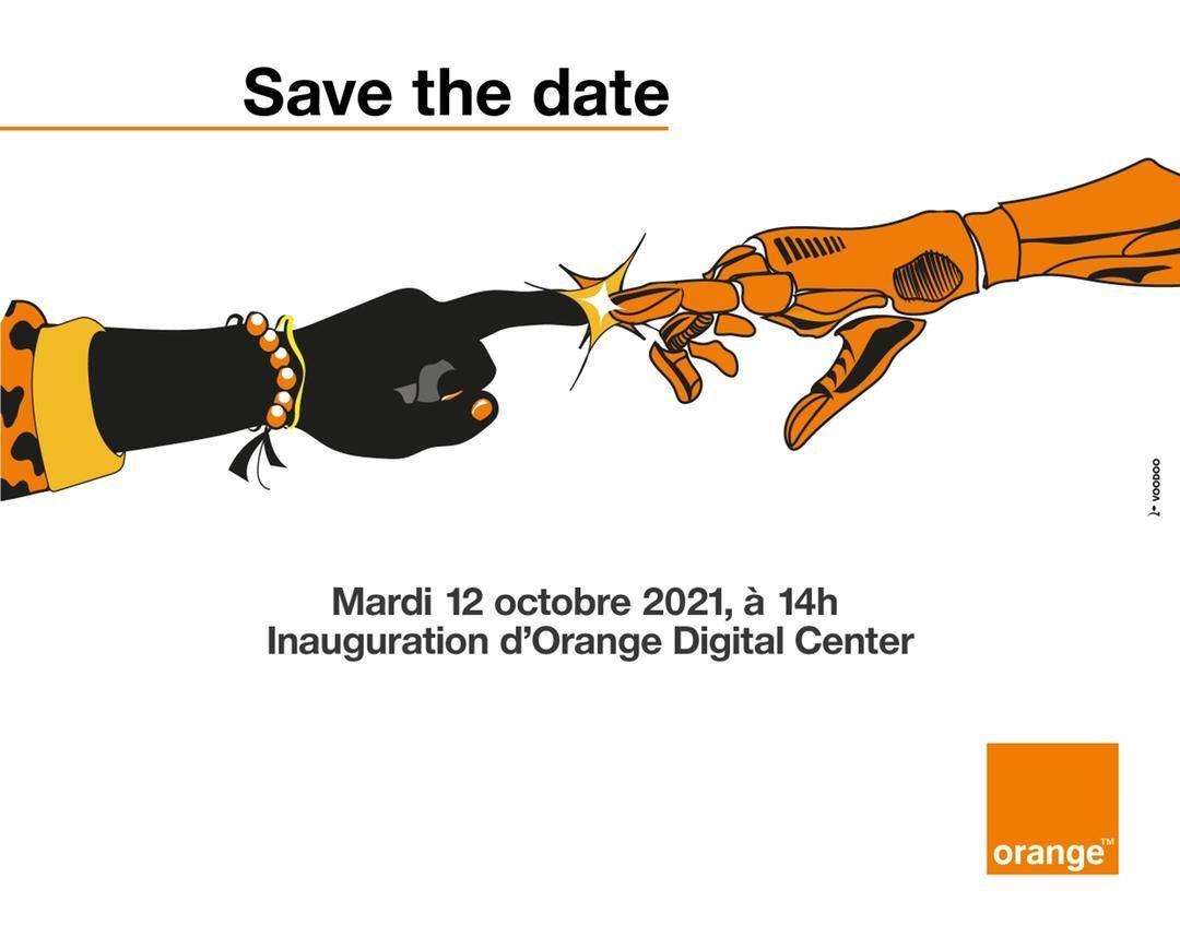 Save The Date, mardi 12 octobre, à 14h inauguration d'Orange Digital Center